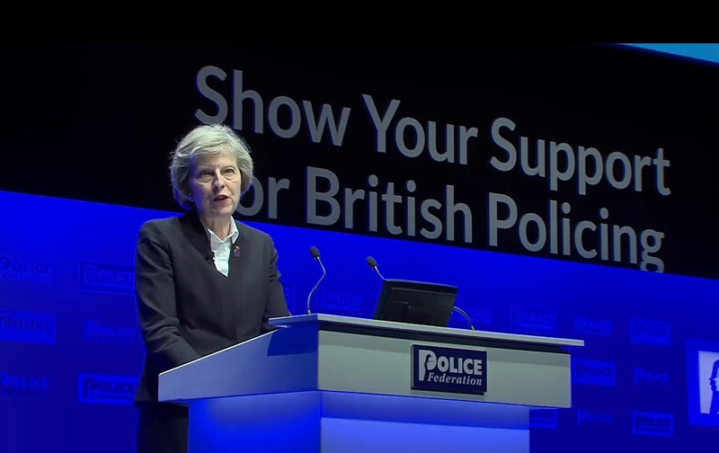 Theresa May has said many times that PCCs hire, fire and are accountable
