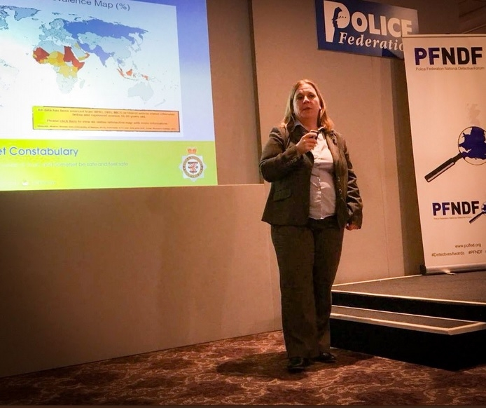 Chief Inspector Leanne Pook. Photo: PFEW_HQ twitter