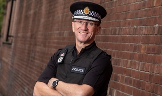 GMP Chief Constable Ian Hopkins wins Director of the Year