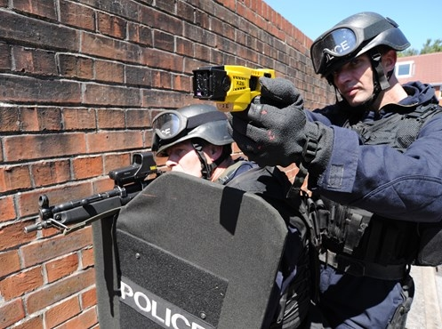 Firearms operations: Up by seven per cent to more than 20,000