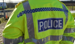 An Avon and Somerset police officer had been trying to help a man who fell to his death