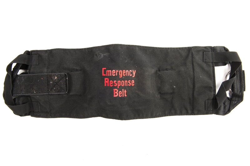 Emergency Response Belt: Judge Julian Lambert ruled he could not be sure that the ERB, designed to restrain limbs, was a contributory factor in Thomas Orchard's death