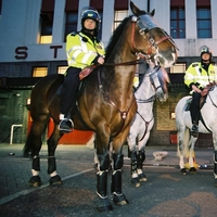Threatened mounted unit safe for two years