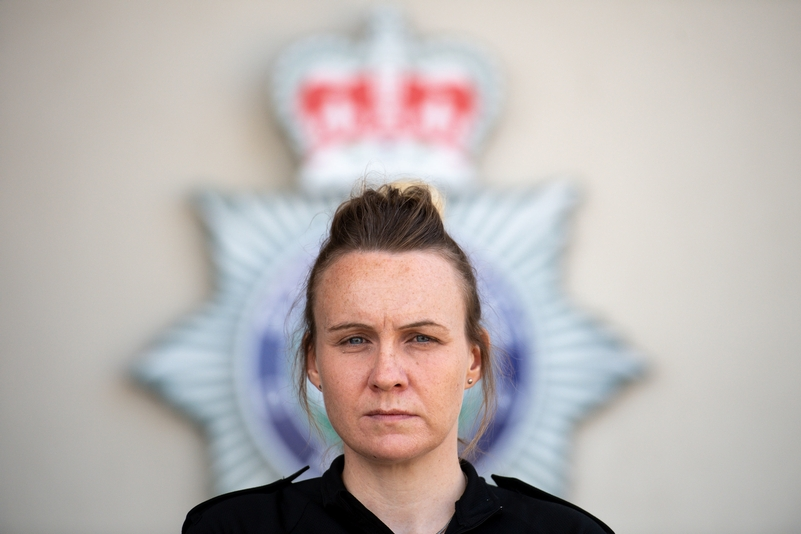 Verity Steele has joined Staffordshire Police during the pandemic