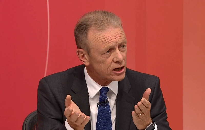 Lord Hogan-Howe on Question Time. Picture: BBC