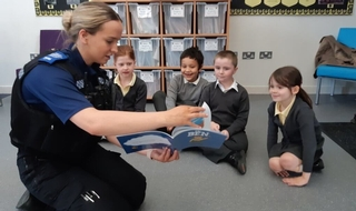 Story book character joins Thames Valley's ranks for youth engagement