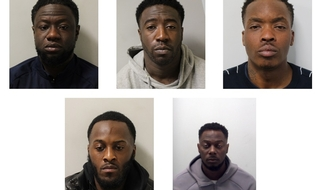 Five jailed for 'brutal, sustained' assault on off duty officer