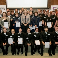 Dedicated specials and volunteers honoured at Lord Ferrers Awards