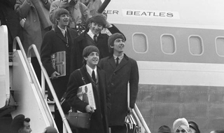 The beat goes on . . . as police log books list 'thin blue line holding back Beatlemania'