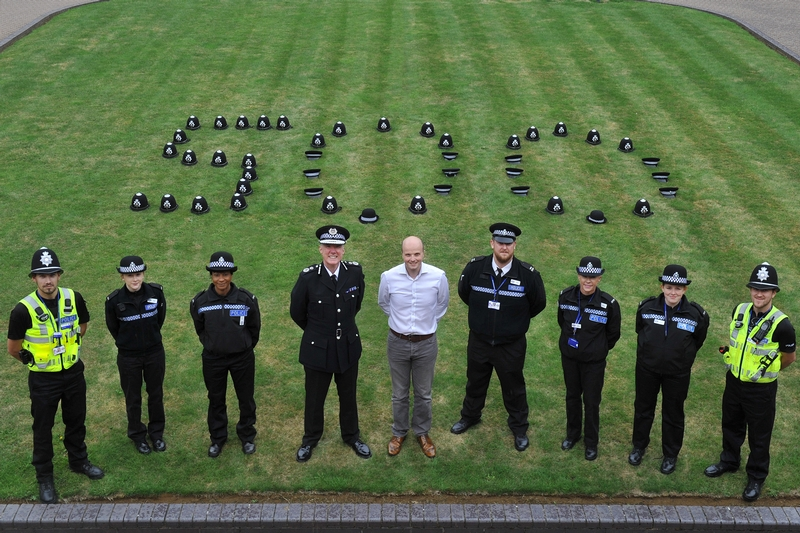 Northamptonshire Police celebrated reaching 500 specials recently, and aim to reach 900 by May