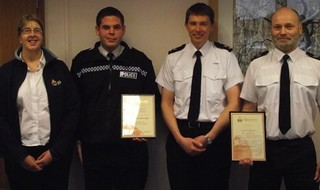 Sea Rescue: Officers Honoured