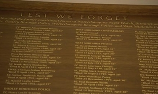 'Forgotten officers' honoured with memorial