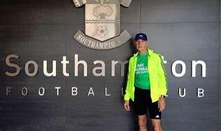 Ex-officer attempts to run to every football stadium in the country