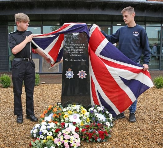 Lest we forget: the new memorial is unveiled