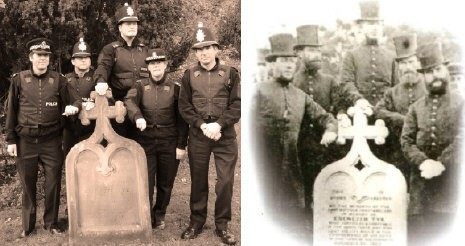 Victorian Photo Recreated In Tribute To Officer