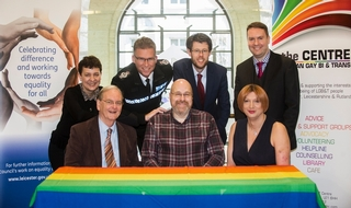 Leicestershire gives support to LGBT group