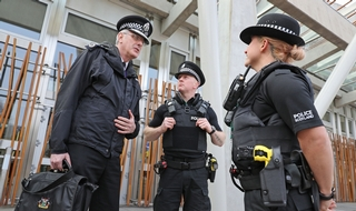 Chief rejects call for routine arming and claims force already has best response in UK