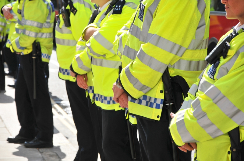 Number of black officers 'barely increased', report finds.