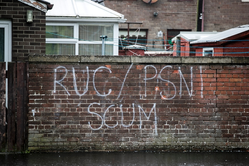 Wall of shame: Graffiti insults