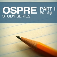 OSPRE 1: Constable to Sergeant Week 4