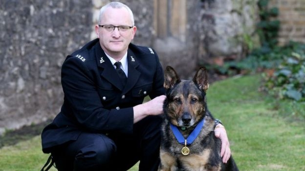 Journey of discovery: PC Dave Wardell and Finn