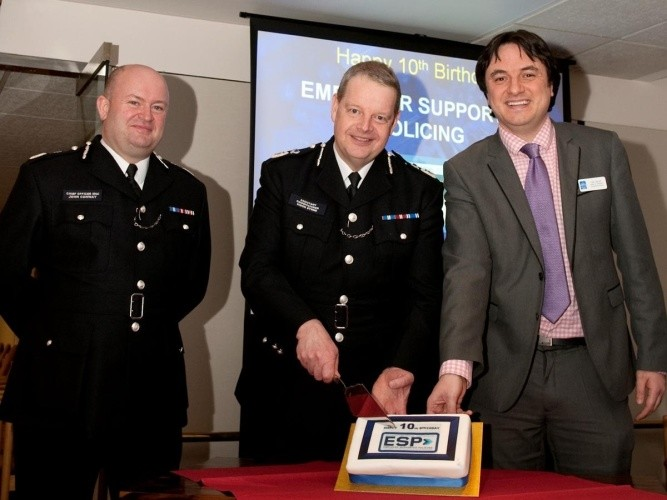 'Great decade' for special constable recruitment