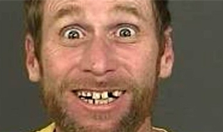 World's 'happiest police mugshot' revealed