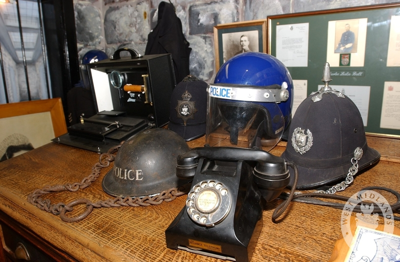 Memorabilia at West Midlands Police Museum, which is raising money to move to Steelhouse permanently