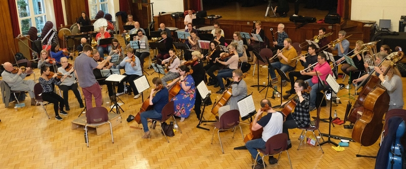 Run for your money: the Blue Light Symphony Orchestra before the lockdown
