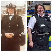 Met's longest serving female officer celebrates 40 years in the service