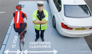 Force targets drivers who get too close to cyclists
