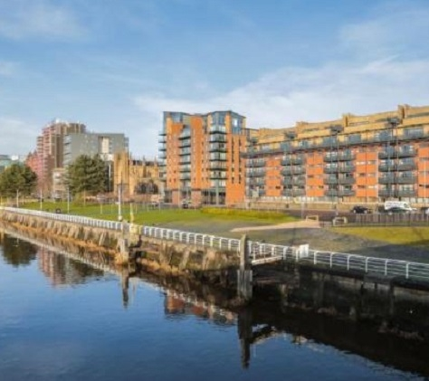 Jumping incident: River Clyde in Glasgow