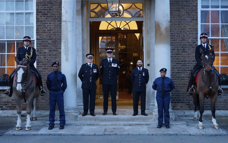 City of London regulars, volunteers and specials at an attestation ceremony earlier this year