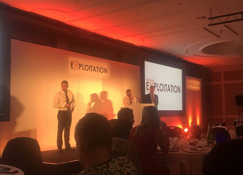Tackling Exploitation: The conference hears of