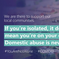 You are not alone, police tell domestic violence victims