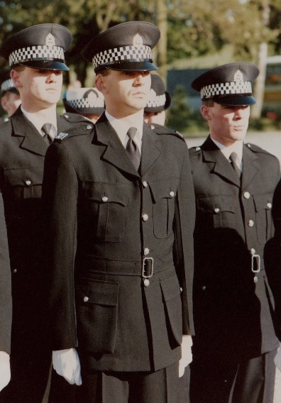 Rookie Colin Durrance: At his passing out parade