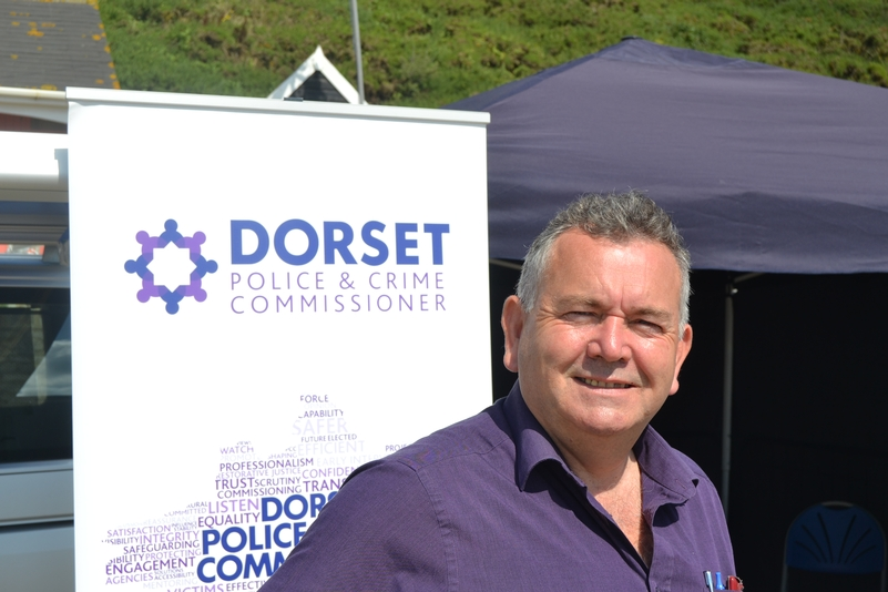 Police and Crime Commissioner for Dorset, Martyn Underhill