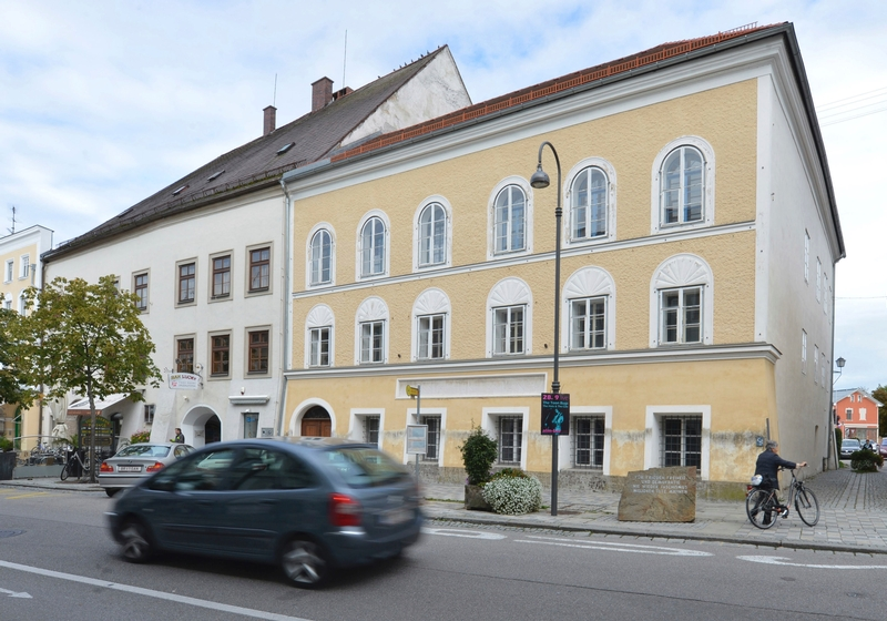 House where Hitler was born to become police precinct