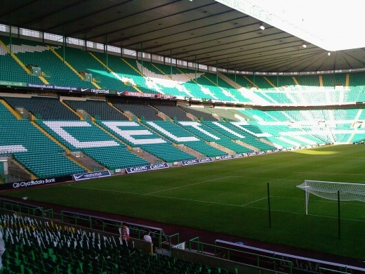 The match took place at Celtic Park, commonly known as Parkhead