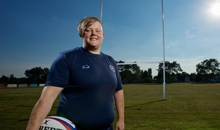 New officer 'proud' to be selected for police rugby team