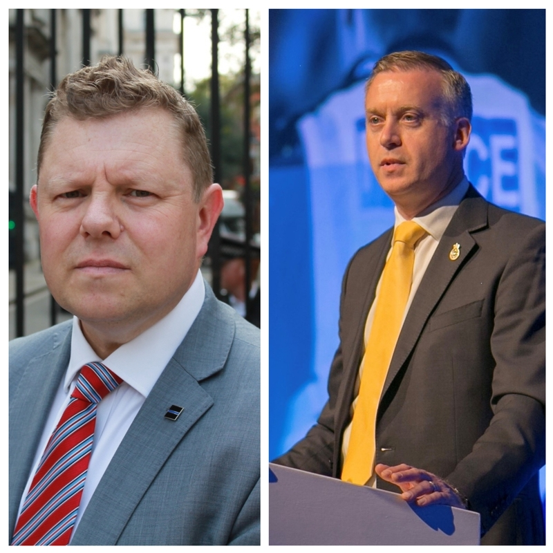 John Apter and Phill Matthews both want your vote