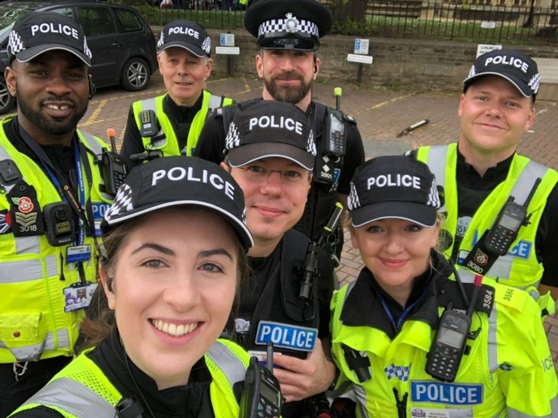 Winning smiles: From Northamptonshire Special Constabulary
