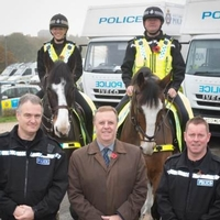 Mounted special constables hailed as UK first