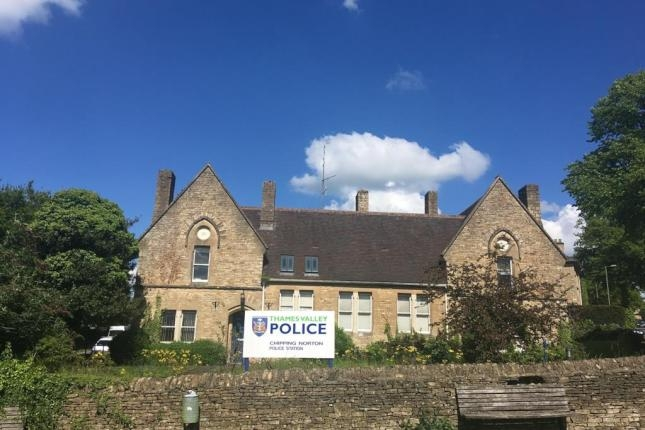 Circa 1865: The closed police station at Chipping Norton in Oxfordshire