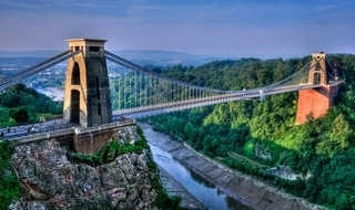 The Clifton Suspension Bridge, near where the incident happened.