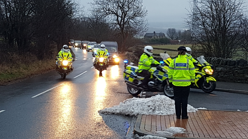 Funeral for PC Dave Fields -PA