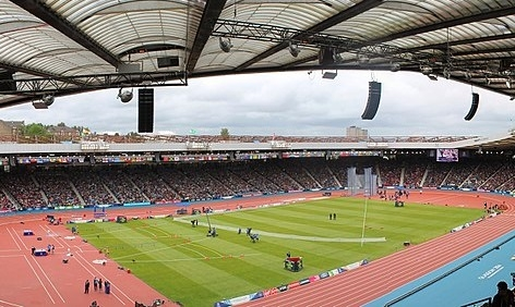 Hampden Park, during a different sporting event