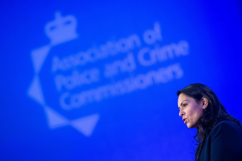 Reformer: Home Secretary Priti Patel has backed calls for changes to policing