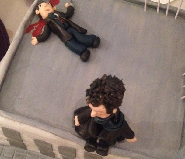 Sherlock cake is a baker's treat