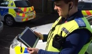 Tablet tech promises 'efficient crime investigation'